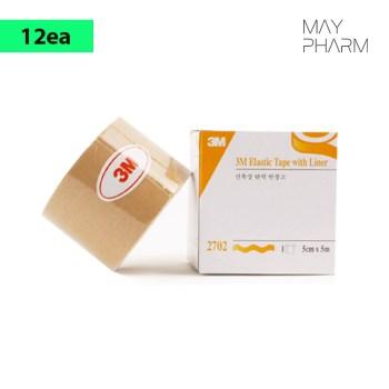 3M Elastic Tape with Liner 5cmx5m (12ea)