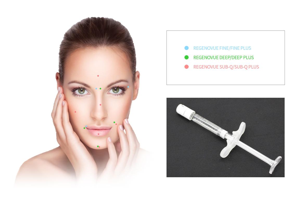 maypharm online store dermal filler regenovue CE certified filler for filling lips volume, face contouring, wrinkle improving, nose correction etc best filler in UK