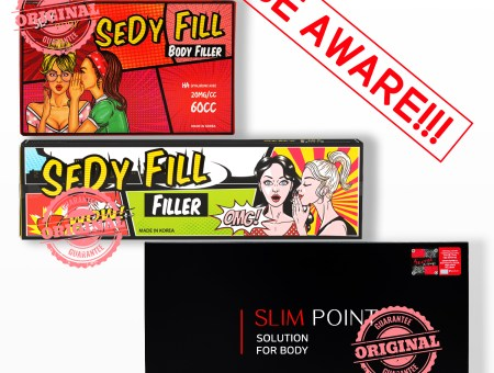 WARNING NOTICE: Beware of Fake Products [Sedy Fill  & Slim Point]