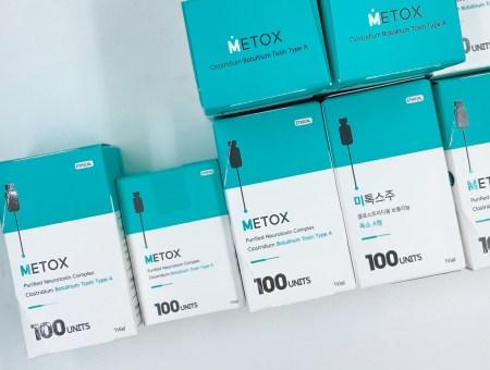 Metox 100U: Product Package Redesign