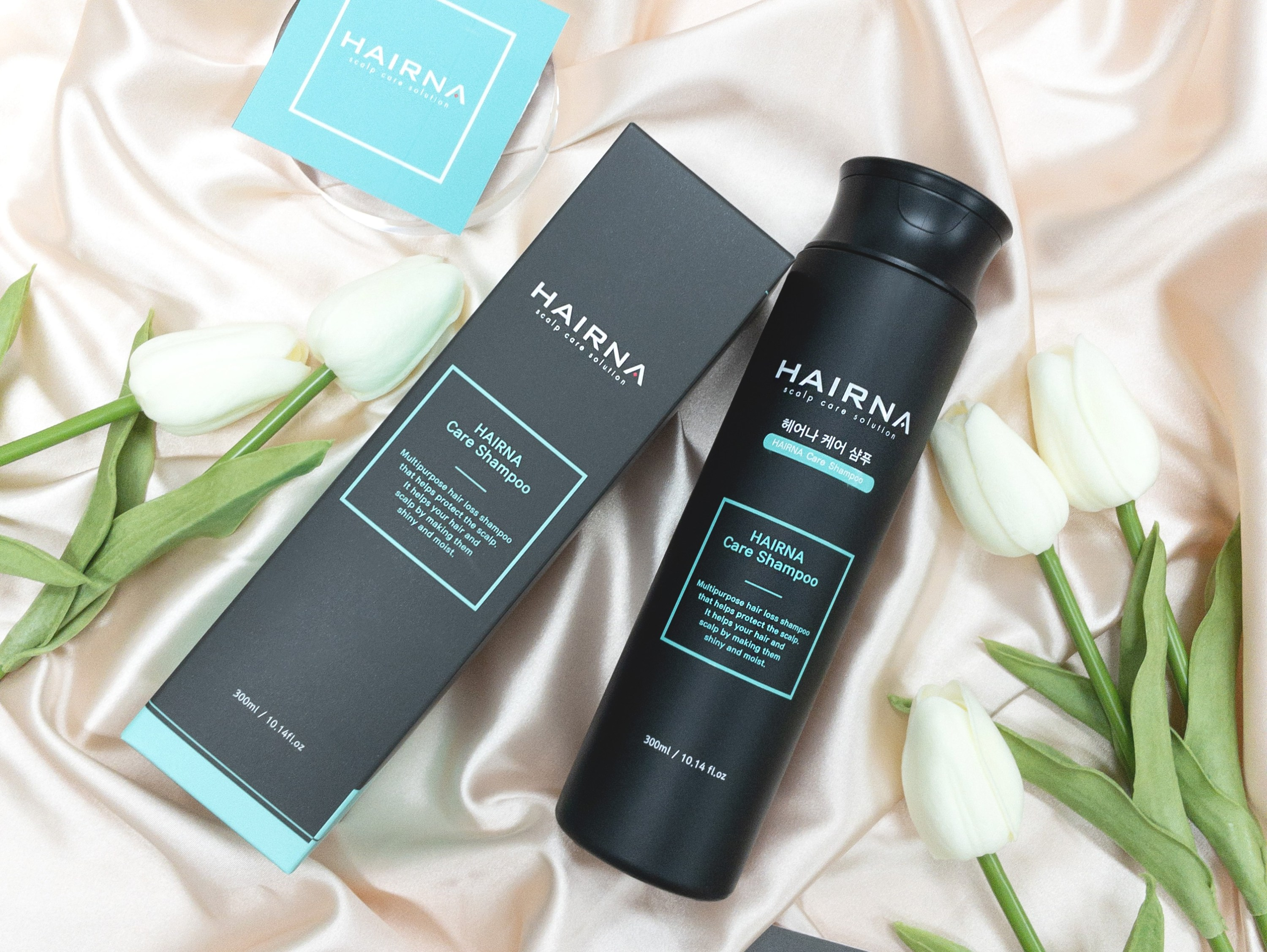 HAIRNA CARE SHAMPOO Scalp protection Scalp soothing Scalp barrier reinforcement Functional shampoo that relieve hair loss symptoms. maypharm